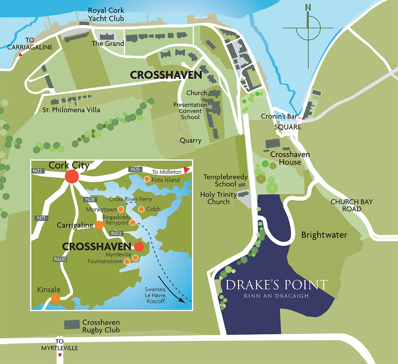 Drakes Point - Drake's Point • Crosshaven on